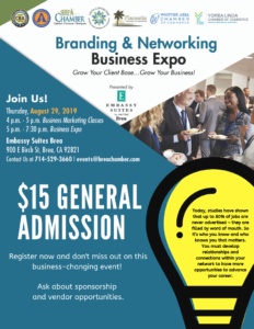 2019 CBA Business Expo General Admission Flyer