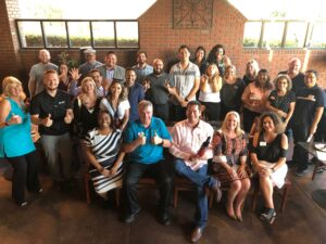 Brea Young Professionals group photo